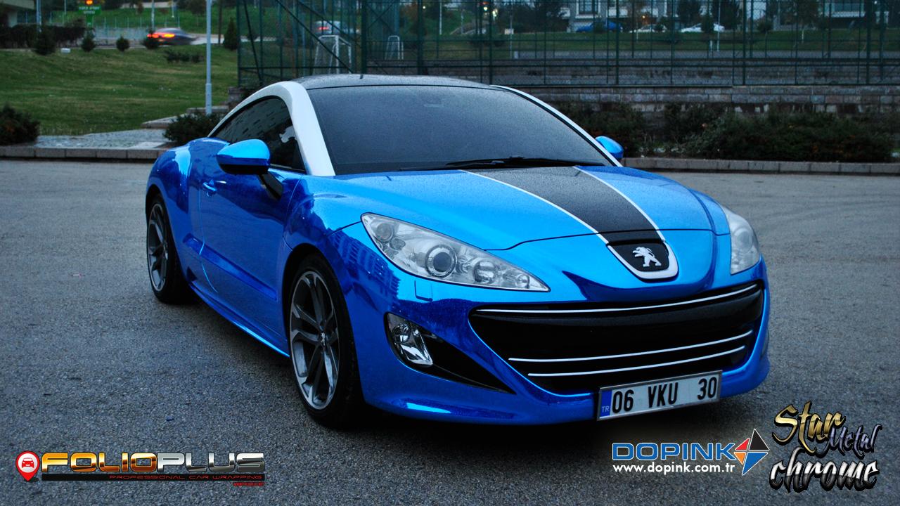 Peugeot Rcz Chrome Blue Folioplus Profesyonel Ara 231